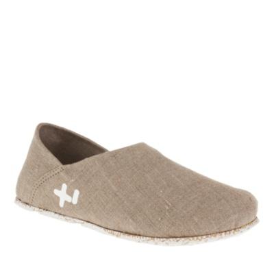 OTZ 300 GMS Linen Slip-On Shoes (natural)