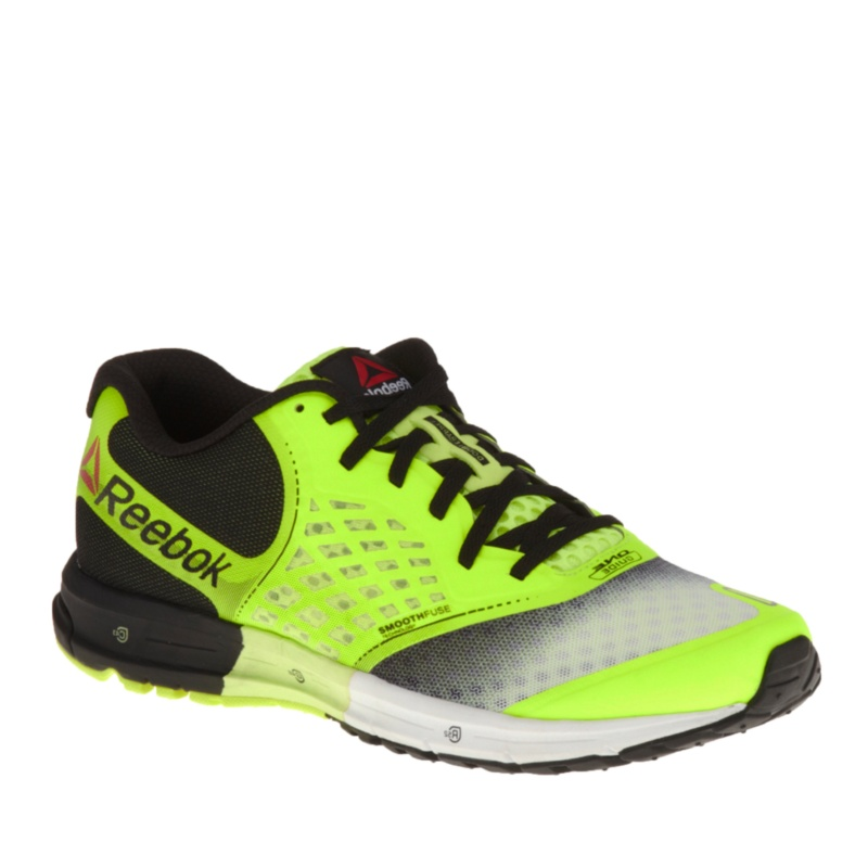 Reebok One Guide 2.0 Running Shoes (Men's) - Yellow - Black - 9 D(M) US