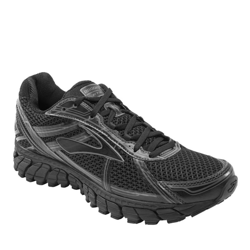 Brooks Adrenaline GTS 15 Running Shoes--Black,10