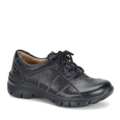Nurse Mates Lexi Lace Up Shoes (black)