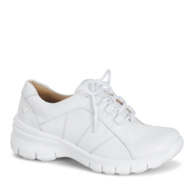 Nurse Mates Lexi Lace Up Shoes (white)