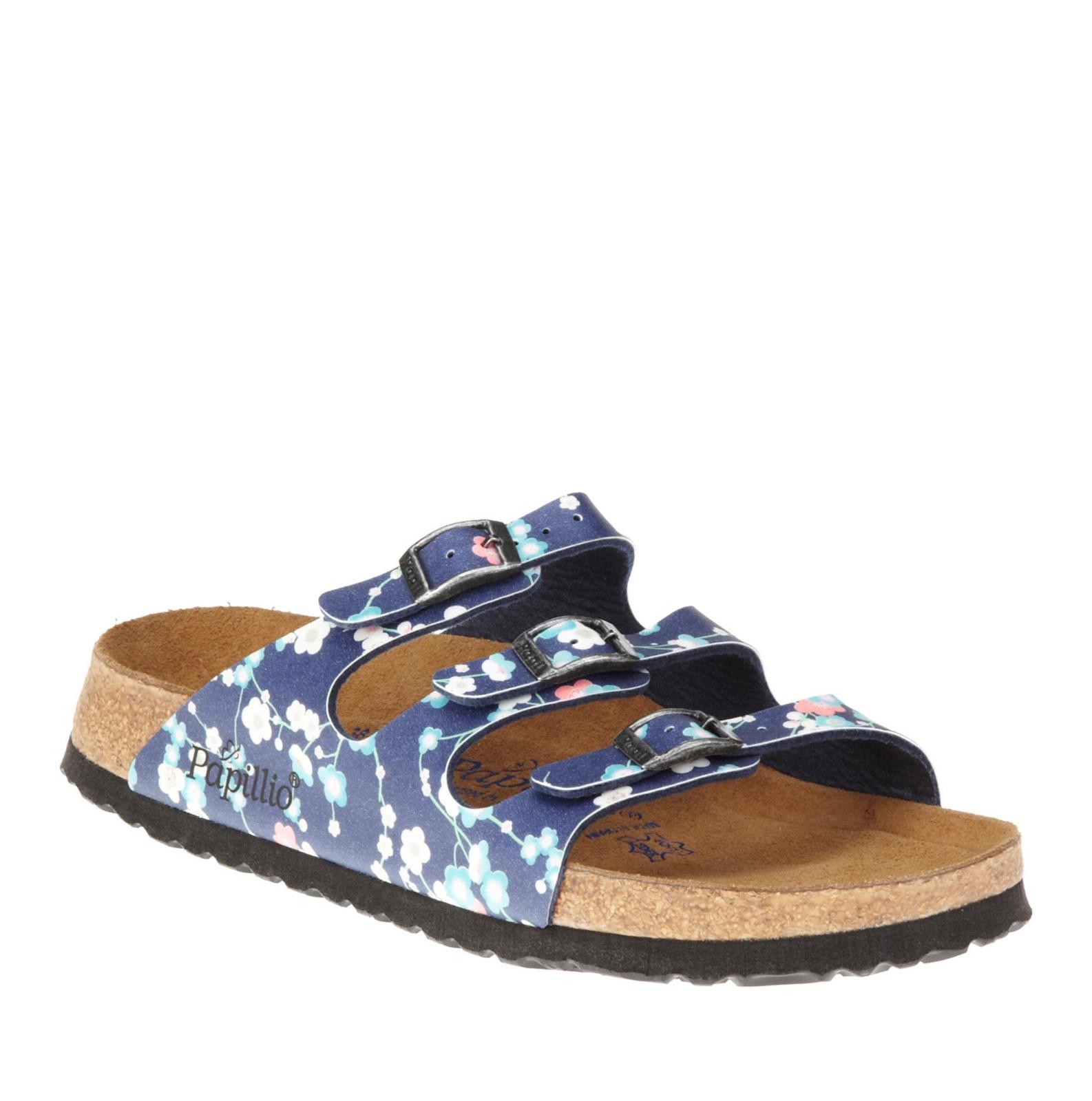 papillio by birkenstock florida soft footbed slide sandals. Black Bedroom Furniture Sets. Home Design Ideas