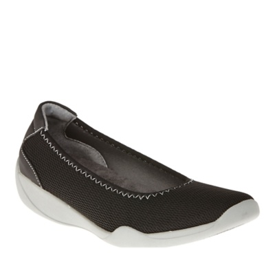 footsmart stretchies mesh slip on shoes