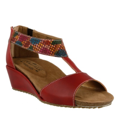 L'Artiste Breckel T-Strap Sandals