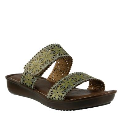 L'Artiste Tashika Slide Sandals
