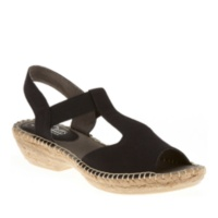 Cliffs by White Mountain Women's Cedar T-Strap Espadrilles Shoes