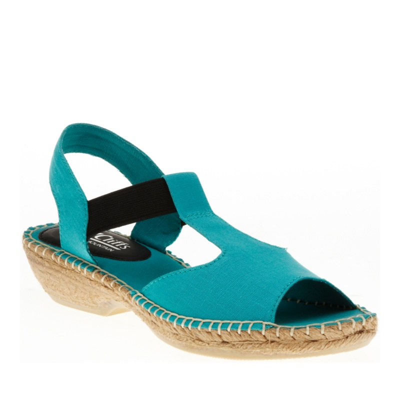 Cliffs by White Mountain Cedar T-Strap Espadrilles