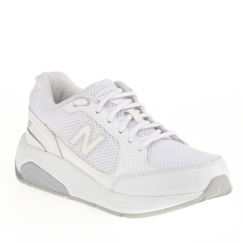 New Balance 928 Tie Walking Shoes (Women's)--White Mesh,9