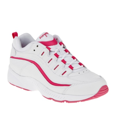 easy spirit womens romy walking shoeswhite pink5