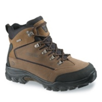Wolverine BROWN/BLACK Men's Spencer Waterproof Hiking Boots Shoes