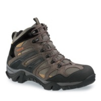 Wolverine GUNMETAL/TAN Men's Wilderness Waterproof Hiking Boots Shoes