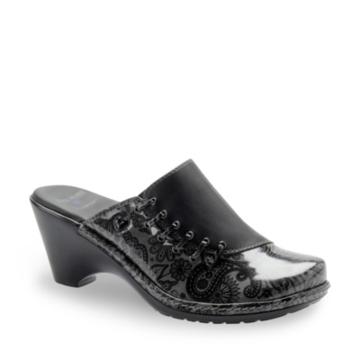 Nurse Mates reley clogs - black grey