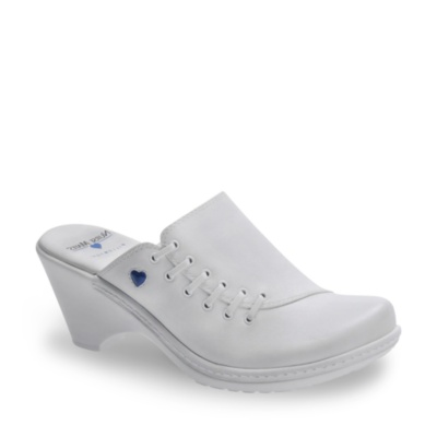 Nurse Mates reley clogs - white
