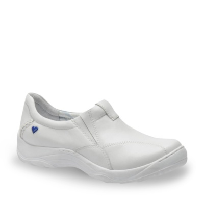 Nurse Mates andes slip-on - white