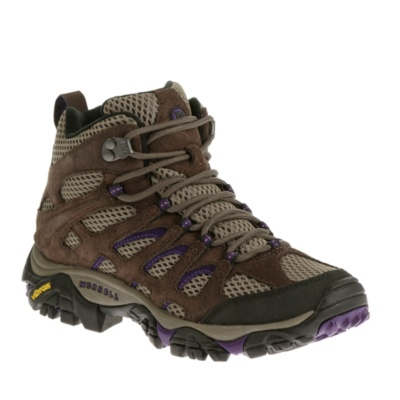Merrell Moab Mid Ventilator Trail Hiking Boots--purple,10.5 Picture