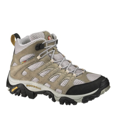 Merrell Moab Mid Ventilator Trail Hiking Boots--taupe,6 Picture