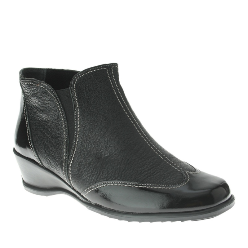 Spring Step Coty Ankle Boots - Black Combo - 35 M/B