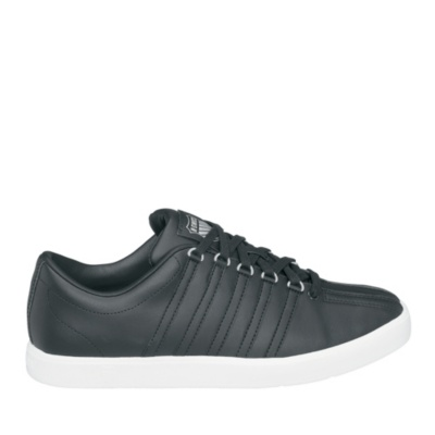 the classic lite lace-up - black white