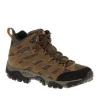 Merrell Moab Mid Waterproof Lace-Up Hikng Shoes Shoes