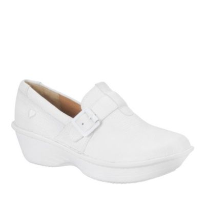 Nurse Mates Gelsey Slip-On Shoes (white)