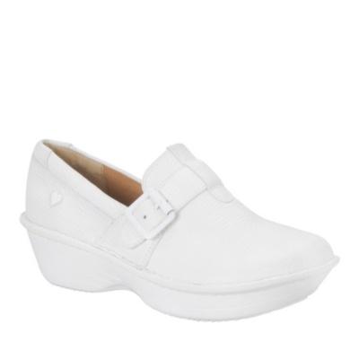 Nurse Mates Gelsey Slip-On Shoes (white)