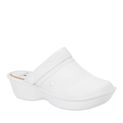 Nurse Mates gala slip-on - white