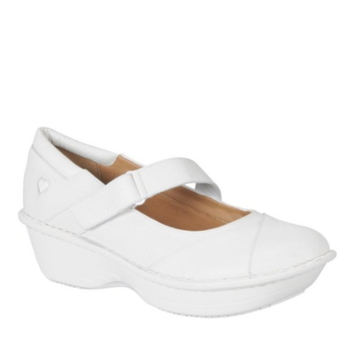 Nurse Mates Grady Mary Jane Shoes (white)