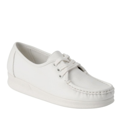 Nurse Mates Anni Lo Lace-Up Shoes (white)