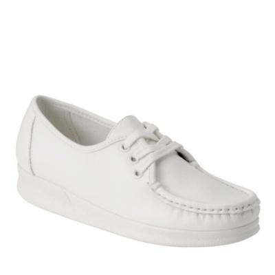 Nurse Mates Anni Lo Lace-Up Shoes (white)
