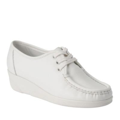 Nurse Mates Anni High Lace-Up Shoes (white)