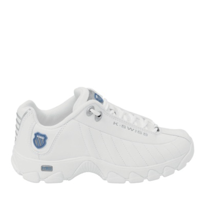 st-329 walking - white silver