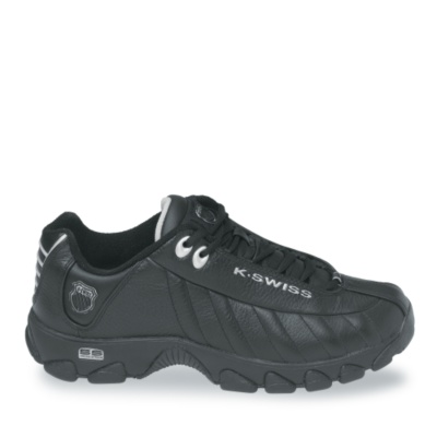 st-329 walking - black silver