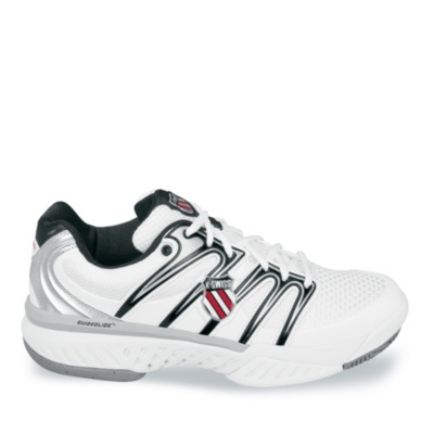 K-Swiss Bigshot Tennis (Men's) (white silver)