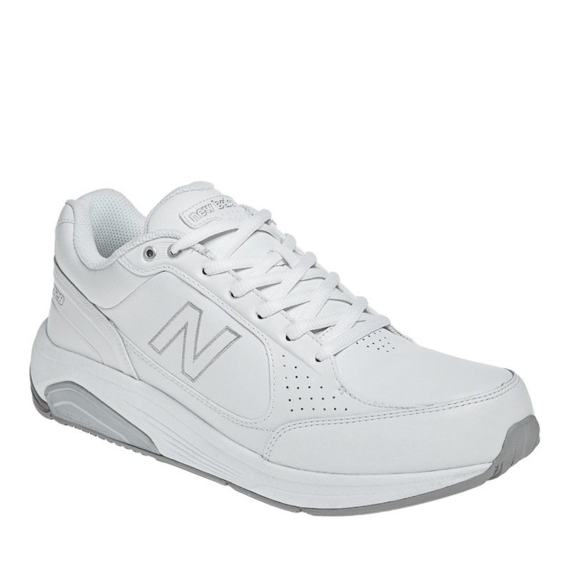 New Balance 928 Tie Walking Shoes (Men's)--White, 12.5 - 12.5
