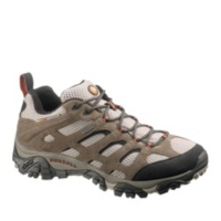 Merrell Bark Brown Men's Moab Waterproof Lace-Up Shoes
