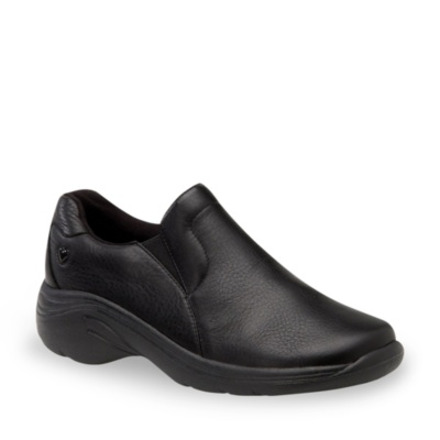 Nurse Mates Dove Slip-on Clog Sneakers (black)