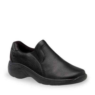 Nurse Mates Dove Slip-on Clog Sneakers (black)