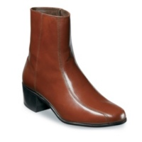 Florsheim COGNAC Duke Side Zip Boots Shoes