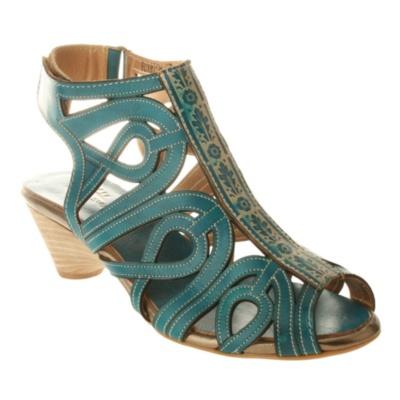 L'Artiste by Spring Step Flourish Strappy Sandals