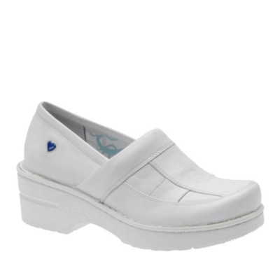 Nurse Mates Kayla Slip-On Shoes (white)