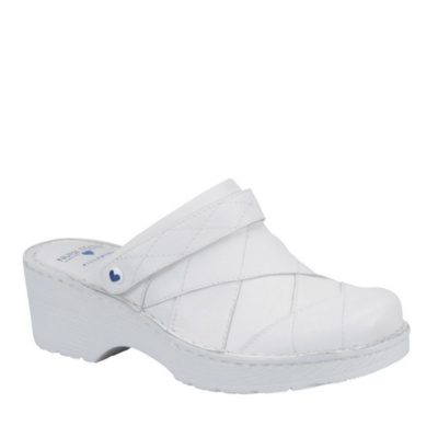 Nurse Mates haden clogs - white
