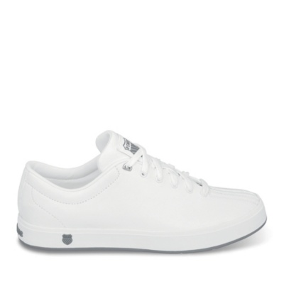 clean classic lace-up - white stingray