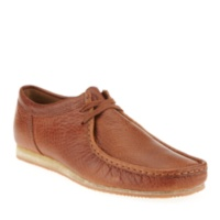 Clarks TAN LEATHER Men's Wallabee Run Oxford Shoes