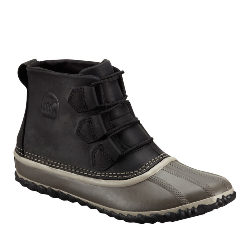 Sorel Out-N-About Leather Ankle Boots