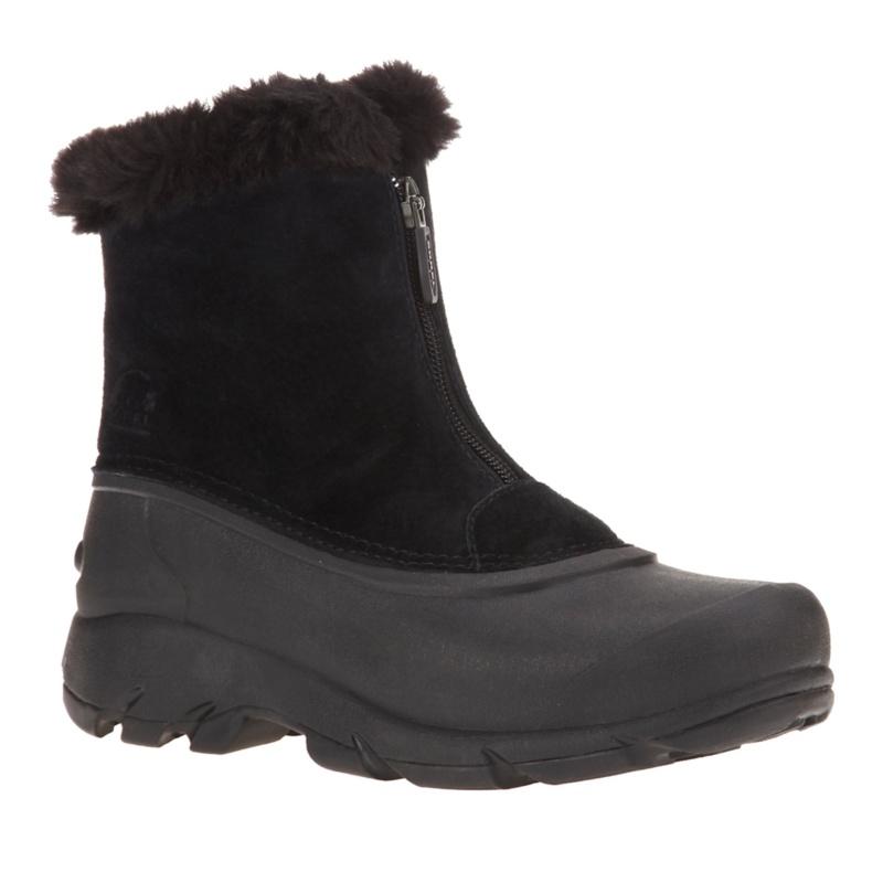Sorel Snow Angel Zip Ankle Boots - Black