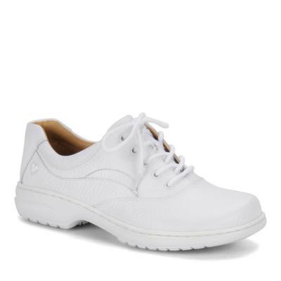 Nurse Mates Macie Lace-Up Shoes (white)