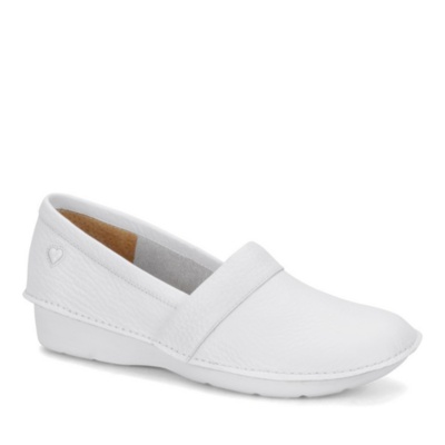 Nurse Mates Rene Slip-On Shoes (white)
