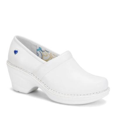 Nurse Mates Halle Slip-On Shoes (white)