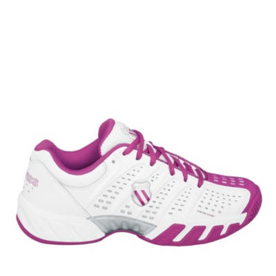K-Swiss Bigshot Light Tennis (Women's) (white magenta)