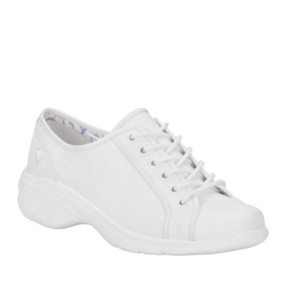 Nurse Mates Daisy Lace-Up Shoes (white)
